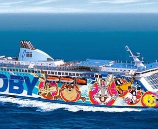 Traghetto Corsica - Moby Aki
