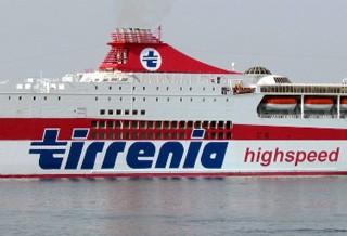 Tirrenia nave Bonaria