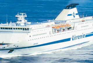 Tirrenia nave Janas