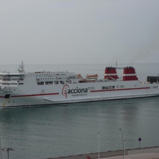 Trasmediterranea nave Zurbaran