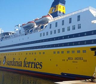 Sardinia Ferries nave Mega Andrea