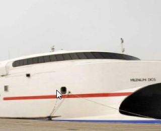 Trasmediterranea nave Milenium Dos