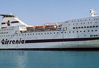 Tirrenia nave Bithia