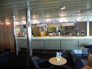 Sardinia ferries - Mega Express 4 il bar