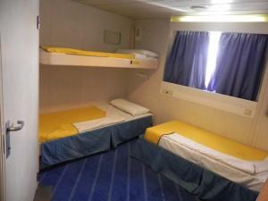 Sardinia Ferries cabina disabili Mega express 4