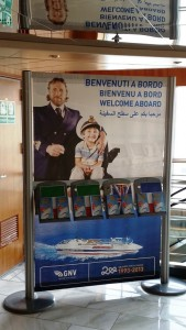 benvenuti a bordo