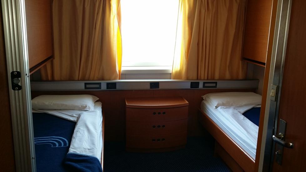 Come dormire a bordo di un traghetto blog for Cabina nel wyoming