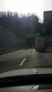 autostrada per porto Genova