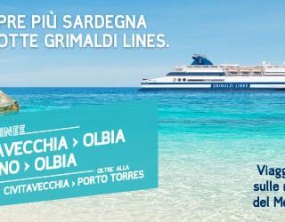 collegamento Civitavechia Olbia con Grimaldi Lines