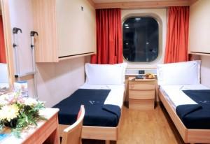 Cruise Roma cabina esterna