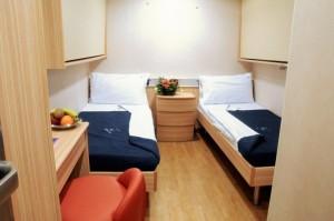 Cruise Roma cabina interna