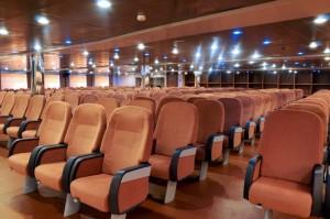 Cruise Roma sala conference