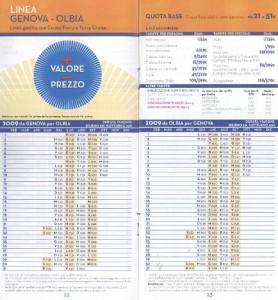 orari e tariffe Grandi Navi Velcoci GNV